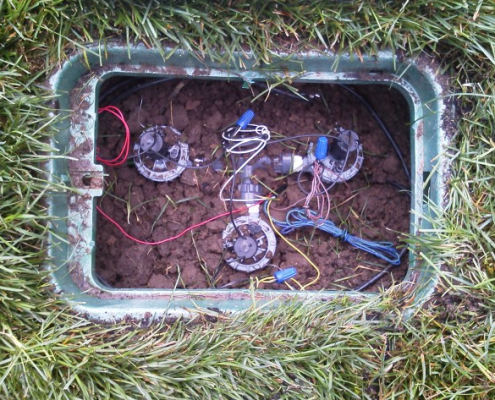 Irrigation Service - Valve Box Assembly