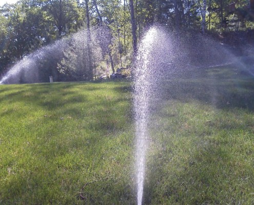 Yard Sprinklers
