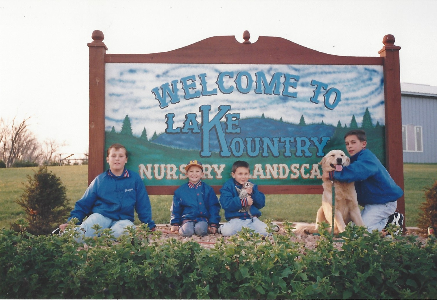 Lake Kountry - Sign With All 4 Boys